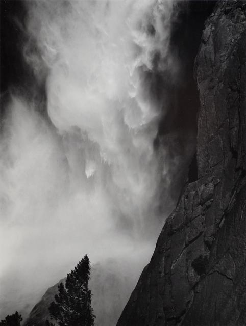 Ansel Adams, 'Base of Upper Yosemite Fall, Yosemite National Park', c. 1950-printed c. 1970s, Scheinbaum & Russek Ltd.