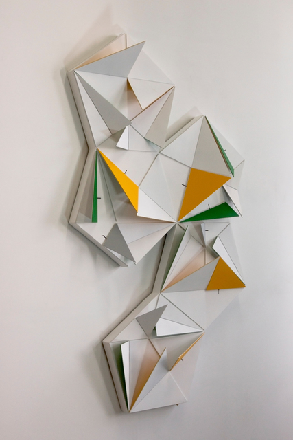 , 'Origami Penta (10 Triangles Lagre X 10 Triangles Medium X 5 Triangles Small},' 2017, Mario Mauroner Contemporary Art Salzburg-Vienna