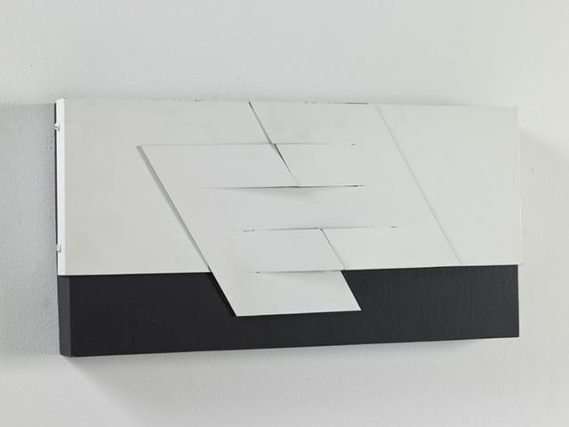 , 'Relieve negro y blanco N.° 2,' 1978, Durban Segnini Gallery