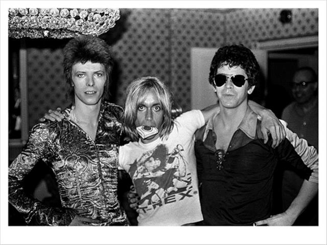 Mick Rock, 'David Bowie, Iggy and Lou, Dorchester Hotel ', 1972, The Bonnier Gallery