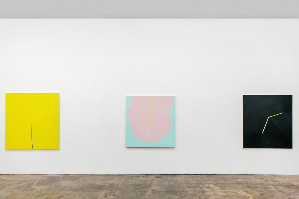Osamu Kobayashi, Split, 2016, Taste Bud, 2016, and Break, 2014.