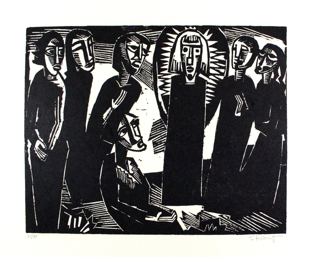 , 'Christus Unter Den Frauen / Christ Among The Women,' 1919, Sylvan Cole Gallery