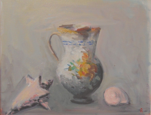 , 'Pitcher and Shells #3,' 2015, Bookstein Projects