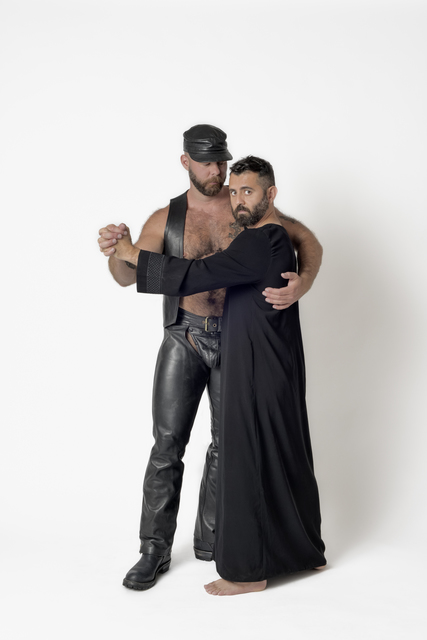 , 'Nick Wafle throws parties in Los Angeles and San Francisco, inspired by gay leather culture from the past. Each party is named after a leather bar or club that no longer exists.,' 2017, EUQINOM Gallery