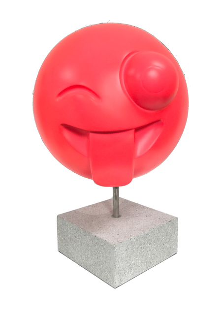 , 'Crazy Face (Neon Red),' 2016, Axiom Contemporary