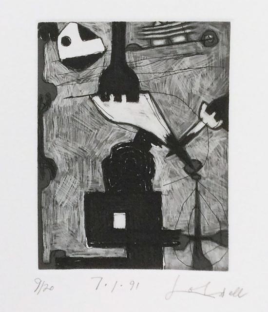 Frank Lobdell, '7.1.91', 1991, Dolby Chadwick Gallery