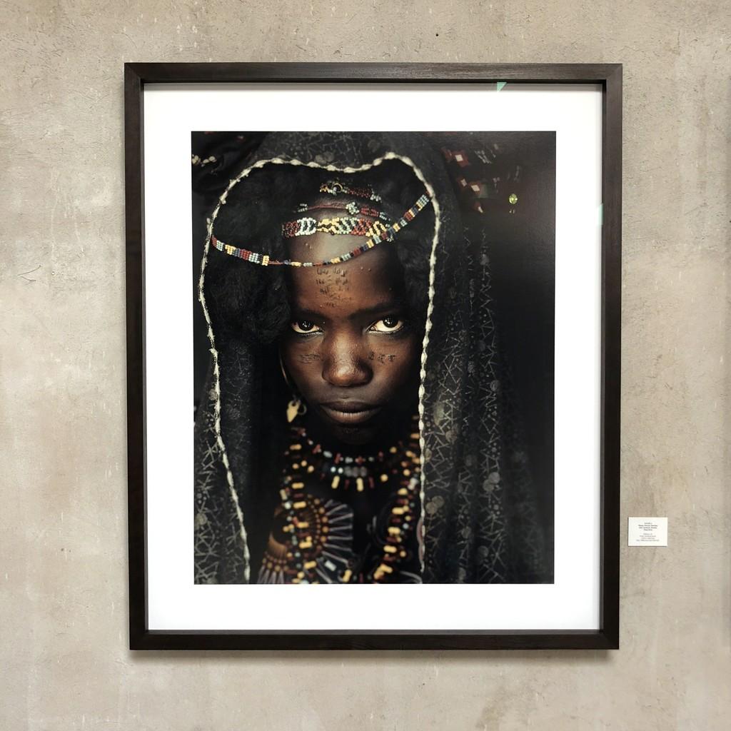Wami, Soedoe Soechay Girl, Gerewol, Bossio Chad. Edition 6 120*100 cm Archival Print
