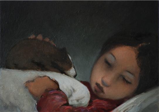 , 'Maria mit Hund,' 2015, LEVY Galerie