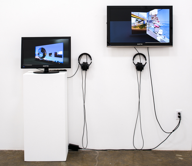 ", '2 videos: ""Consigned to border: the terror and possibility in the things not seen"" & ""Echo"",' 1986-2007, Rosamund Felsen Gallery"