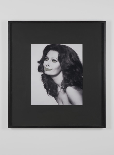 , 'Blind Sophia Loren (mirrored eyes),' 2004, Dvir Gallery