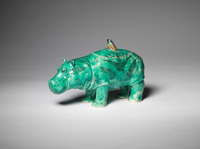 , 'STANDING HIPPO,' 2016, Sladmore