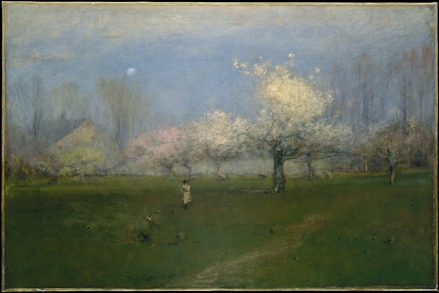 George Inness, 'Spring Blossoms, Montclair, New Jersey', ca. 1891, The Metropolitan Museum of Art