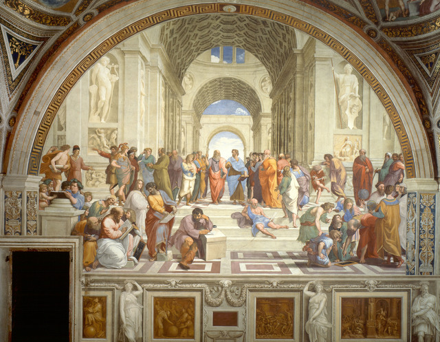 Raphael, 'School of Athens,' 1509-1511, Art History 101