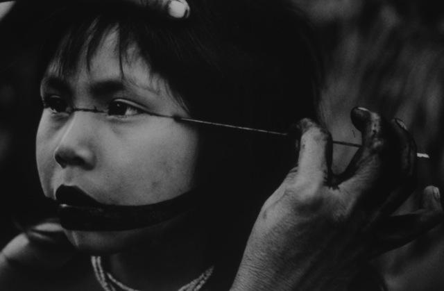 , 'A Marubo Girls Ceremonial Painted Face,' 1965-1970, Bernheimer Fine Art
