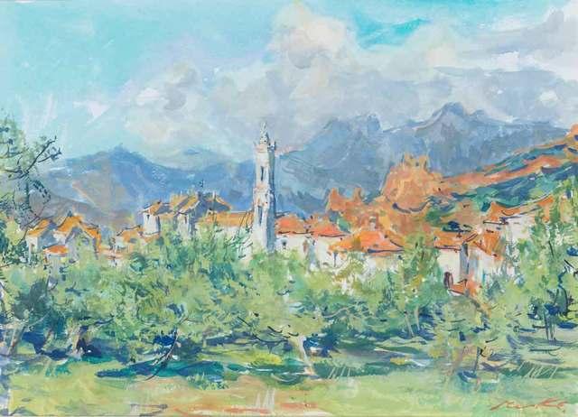 , 'Village Corse,' 2002, Catto Gallery