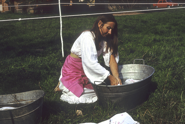 , 'Laundry II, Osieki near Koszalin, summer 1981,' 1981, Monopol Gallery