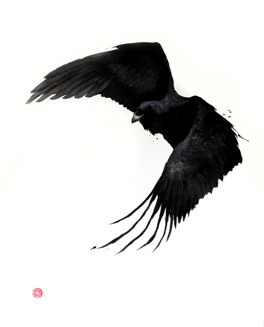, 'Raven II,' , Cricket Fine Art