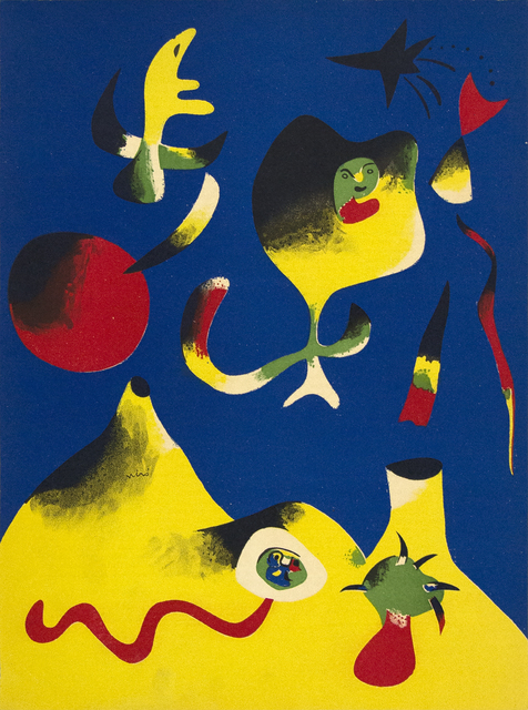 Joan Miró, 'Air', 1937, Heather James Gallery Auction