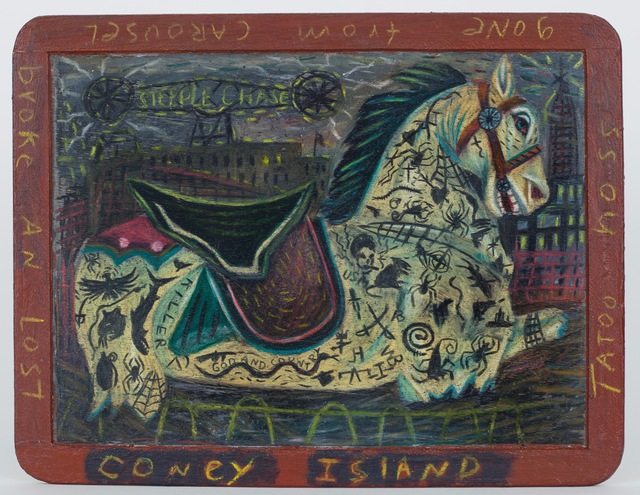 Tony Fitzpatrick, 'Coney Island / Steeple Chase', 1980-1985, ZQ Art Gallery