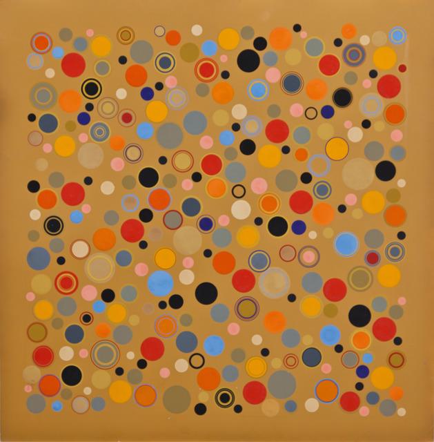 , 'Cercles dans Espace Ocre, # 3049,' 1962, KaBe Contemporary