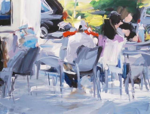 Alireza Varzandeh, 'Der Strand', 2020, Painting, Oil on canvas, Galerie Barbara von Stechow