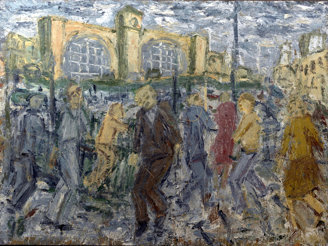 , 'Kings Cross, March Afternoon,' 1998, Annely Juda Fine Art