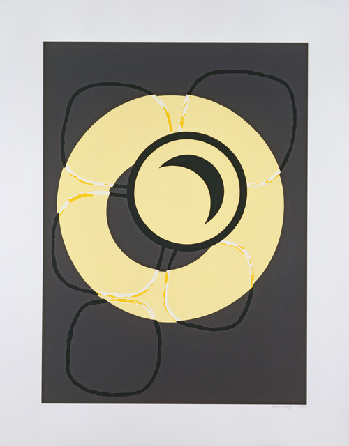 Patrick Caulfield, 'Wall Plate : Stones', 1987, Cristea Roberts Gallery