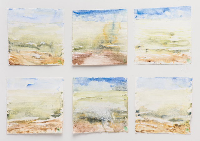 , 'Tides 7-12,' 2018, Reynolds Gallery