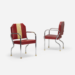 chairs from the studio of Jean-Michel Basquiat, pair