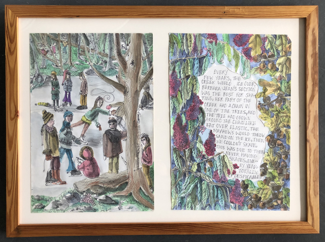 , 'Tree Book: Freeze Diptych,' 2010, Ruiz-Healy Art