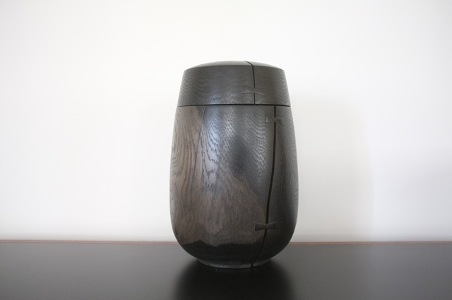, 'Lidded White Oak Jar with Butterflies,' 2015, FAIR Design