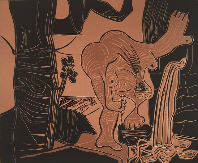 , 'Femme à la source,' 1962, R. S. Johnson Fine Art