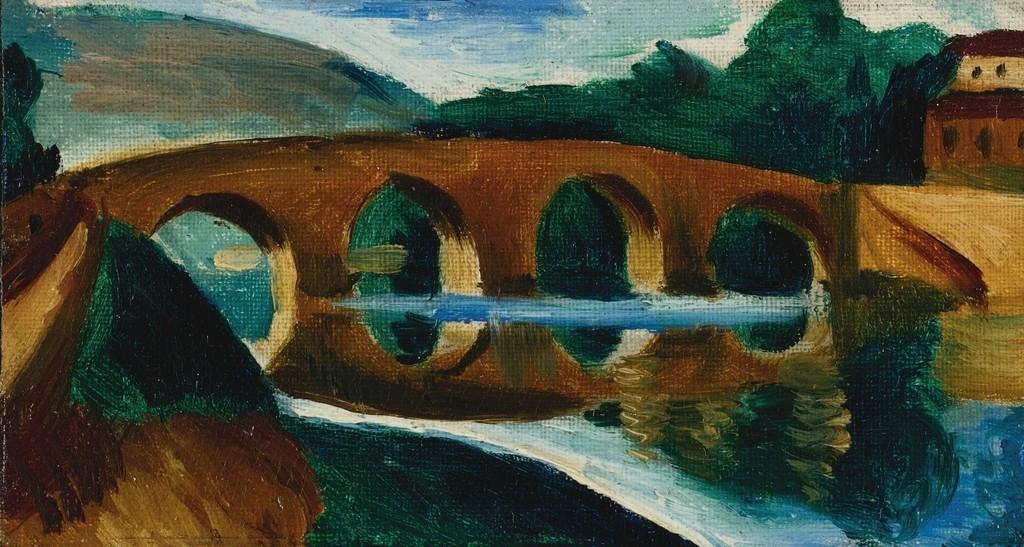 Pont Sur Le Lot