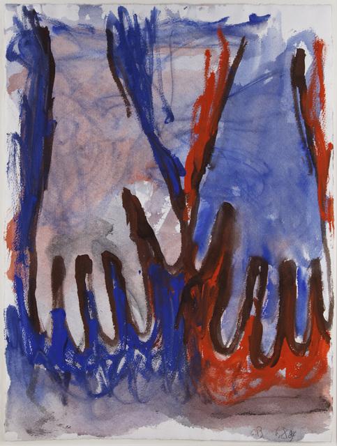 , 'Ohne Titel (Hände). 6.X.84,' 1984, Henze & Ketterer