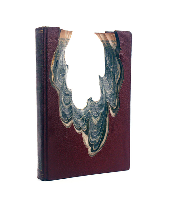 Jessica Drenk, 'Carving: Book of Knowledge', 2018, Sculpture, Books wax, CYNTHIA-REEVES