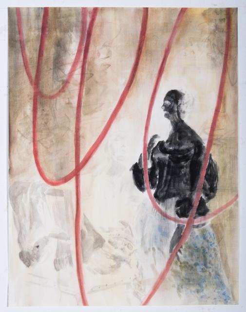 , 'Interieur negativ nach F. van Mieris ,' 2018, Galerie Gisela Clement