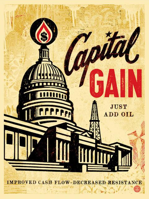 Shepard Fairey, 'Capital Gain', 2015, New Union Gallery