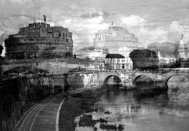 ", '""My own Rave"" Roma, (Castel S. Angelo),' 2016, Anna Marra Contemporanea"