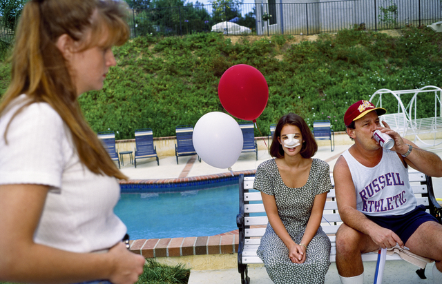, 'Lindsey, 18, at a Fourth of July party three days after her nose job, Calabasas, California,' 1993, Fahey/Klein Gallery