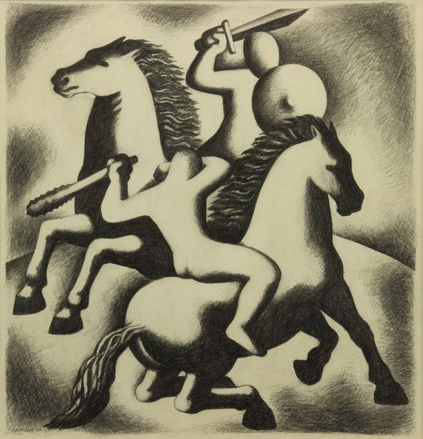 , 'The Combat,' 1932, Addison Rowe Gallery