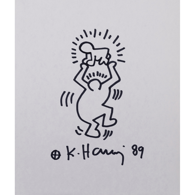 Keith Haring, 'Untitled, Radiant Baby', 1989, PIASA