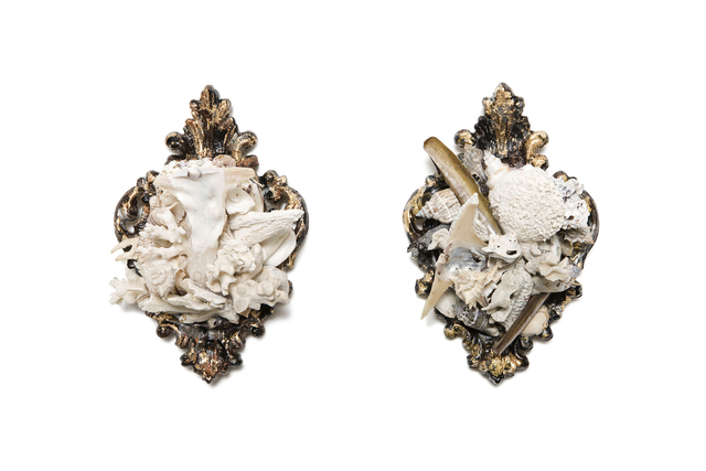 , 'Small Shell Series 15 and 16,' 2008, Bill Lowe Gallery