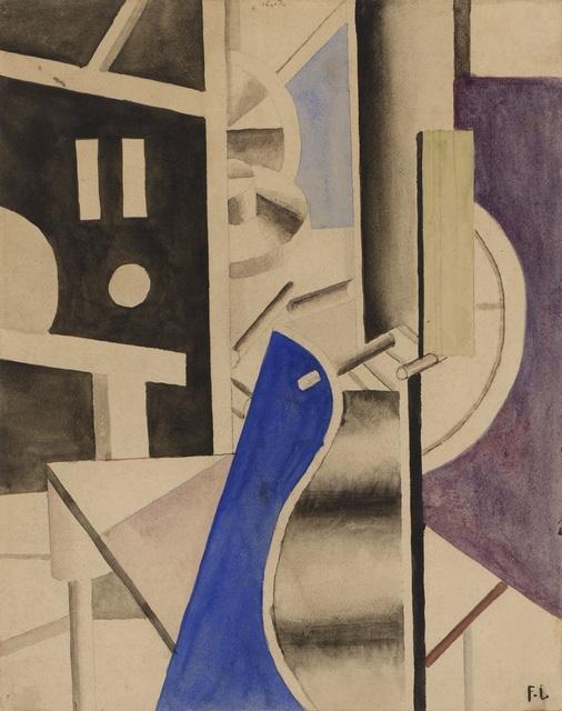 Fernand Léger, 'Dans l'usine, étude pour le moteur', 1918, Galerie A&R Fleury