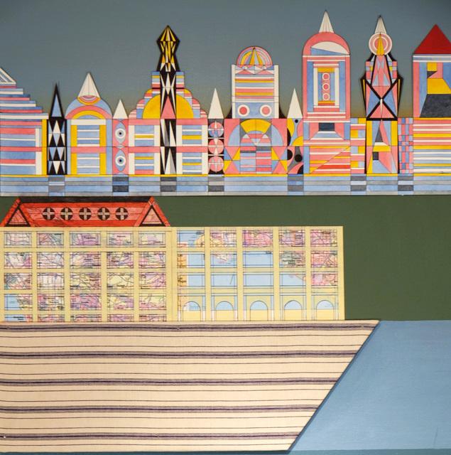 Carlos Rodriguez Cardenas, 'Architectural Landscape (Detail)', 2018, 532 Gallery Thomas Jaeckel