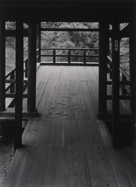 Paul Caponigro, 'Wood Pavilion – Tofukuji Temple, Kyoto', 1976, Pucker Gallery