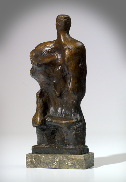 , 'Standing Figure Relief No.2,' 1960, Osborne Samuel