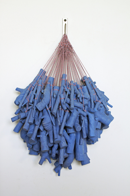 , 'Blue Clippings,' 2017, Mindy Solomon Gallery