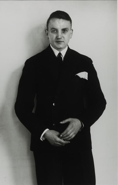 August Sander, 'Young Businessman, 1927', Galerie Julian Sander
