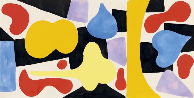 Caziel, 'Composition', ca. 1950, Whitford Fine Art