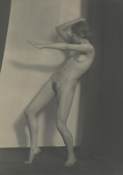 , 'Nude Study,' 1919, Johannes Faber